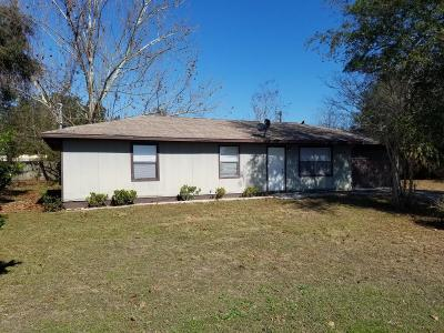 Ocala Single Family Home For Sale: 5831 NW 1st Street