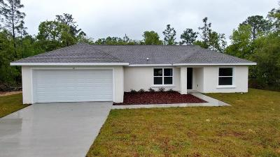 Ocala Single Family Home For Sale: 15 Pecan Run Course
