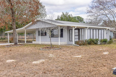 Marion County Single Family Home For Sale: 10021 SW 96th Court