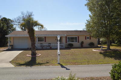 Ocala Single Family Home For Sale: 9940 SW 101st Place