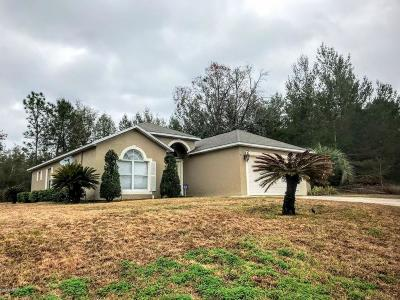 Ocala Single Family Home For Sale: 12849 SW 43 Circle