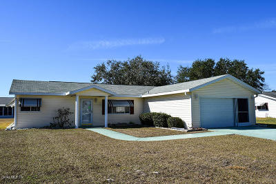 Spruce Creek So Single Family Home For Sale: 17562 SE 106th Avenue