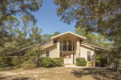 Citrus County Single Family Home For Sale: 8584 N Star Blaze Drive