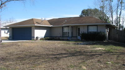 Ocala FL Single Family Home For Sale: $139,000