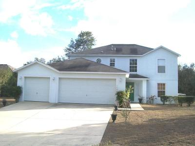 Ocala Single Family Home For Sale: 4400 SW 110th Ln