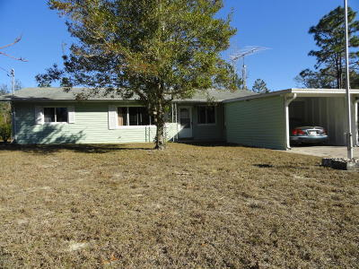 Dunnellon Single Family Home For Sale: 1585 SW Seaweed Avenue