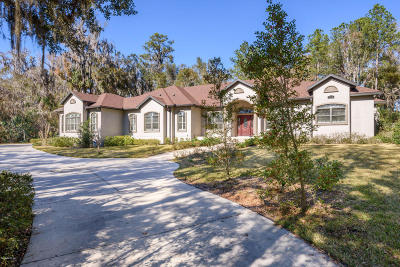 Ocala FL Single Family Home For Sale: $725,000