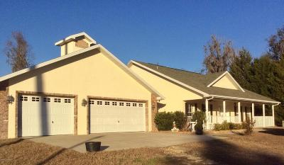 Micanopy Farm For Sale: 12555 NW 198th Street Road