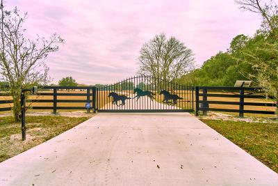 Williston Farm For Sale: 16970 NW 130th Street