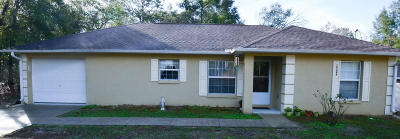Belleview Single Family Home Pending: 10344 SE 126th Place