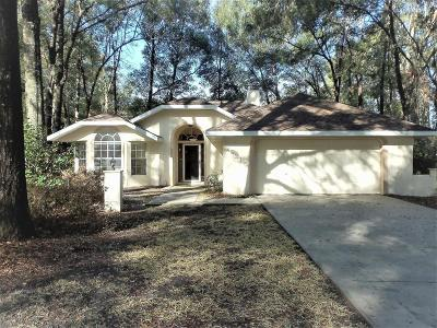 Dunnellon Single Family Home For Sale: 19215 SW 90 Lane Road
