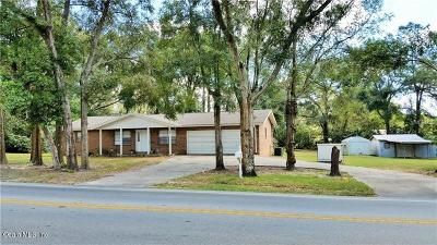 Belleview Single Family Home For Sale: 11685 SE Hwy 484