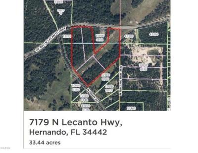 Citrus County Residential Lots & Land For Sale: 7179 N Lecanto Highway