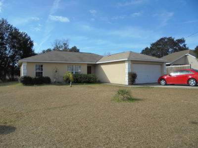 Ocala Single Family Home For Sale: 98 Pine Trace