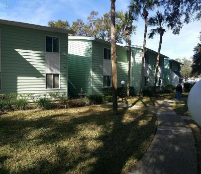 Ocala Condo/Townhouse For Sale: 607 Midway Drive #B