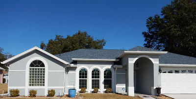 Ocala Palms Single Family Home For Sale: 5225 NW 25th Loop