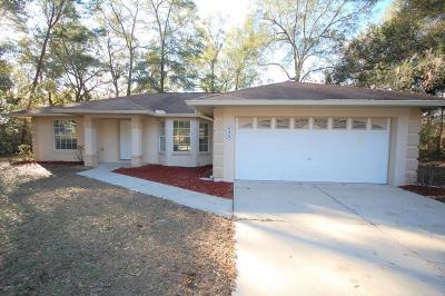 Summerfield Single Family Home Pending: 8426 SE 156th Street