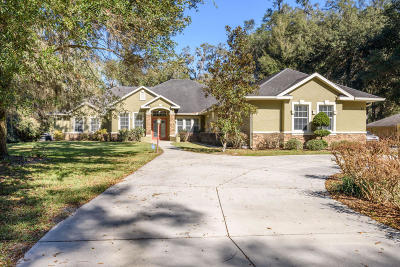 Ocala Single Family Home For Sale: 21 SE 103rd Street