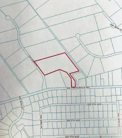 Residential Lots & Land For Sale: SW 7th Ave. Rd.