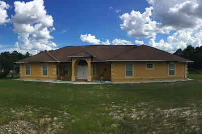 Ocala Single Family Home For Sale: 10170 SW 100th Street