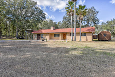Ocklawaha Single Family Home Pending-Continue to Show: 7355 SE 180th Avenue Road