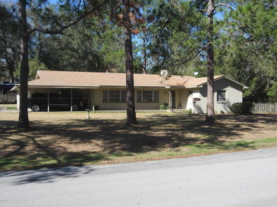 Williston FL Single Family Home For Sale: $209,900
