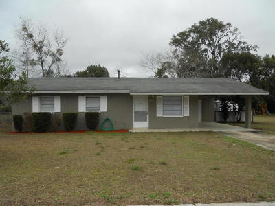 Dunnellon Single Family Home For Sale: 20773 W McKinney Avenue
