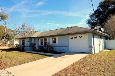 Summerfield Single Family Home Pending: 13581 SE 50th Court