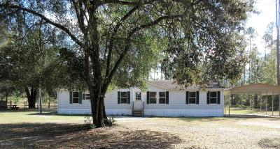 Ocklawaha Single Family Home For Sale: 11980 SE 138th Terr
