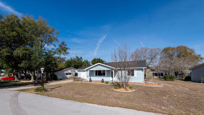 Ocala Single Family Home For Sale: 8615 SW 116th Lane Road