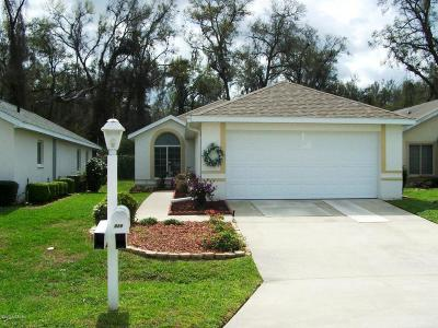 Ocala Palms Single Family Home For Sale: 5288 NW 18th Street
