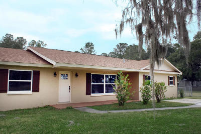 Belleview Single Family Home Pending-Continue to Show: 11719 SE 123rd