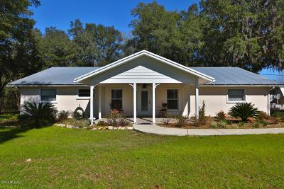 Ocala Farm For Sale: 1099 SW 123rd Place