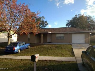Ocala Single Family Home For Sale: 3646 SW 151st Street