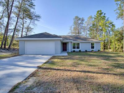 Ocala Single Family Home For Sale: 13160 SW 78th Terrace