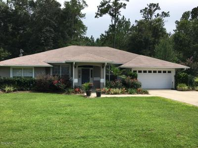 Levy County Single Family Home For Sale: 606 NE 10th Boulevard