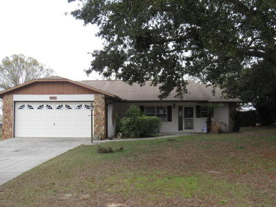 Belleview Single Family Home For Sale: 10839 SE 73rd Court