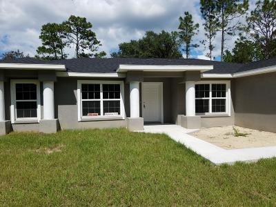 Ocala Single Family Home For Sale: 7789 SW 132nd Place
