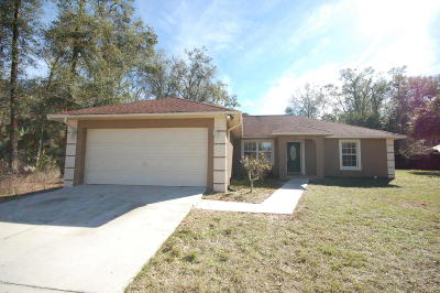 Citra Single Family Home For Sale: 1124 NW 124th Street
