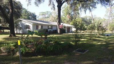 Dunnellon Single Family Home For Sale: 20934 Third Avenue