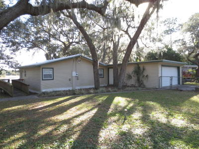 Ocklawaha Single Family Home Pending: 17326 SE 65th Street