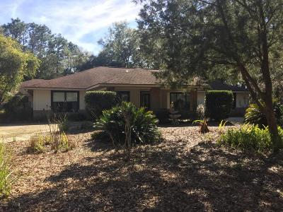 Ocala Single Family Home For Sale: 12810 SW 41st Place