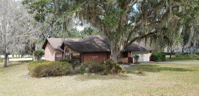 Ocala Single Family Home For Sale: 4025 SW 20th Avenue