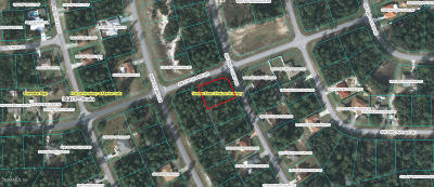 Marion Oaks North, Marion Oaks Rnc, Marion Oaks South Residential Lots & Land For Sale: Corner SW 23rd Court Road & SW 156th Lan Road