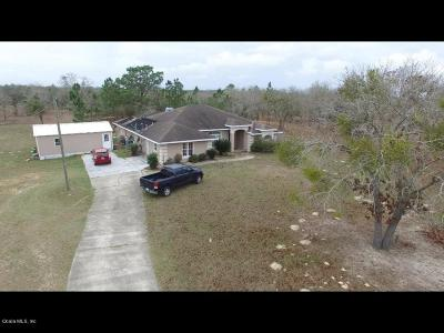 Dunnellon Single Family Home For Sale: 4980 SW Marigold Court