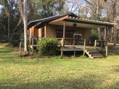 Ocklawaha Single Family Home For Sale: 16501 SE 100th Place