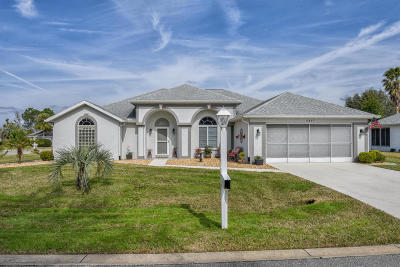 Ocala Palms Single Family Home For Sale: 5417 NW 20 Place