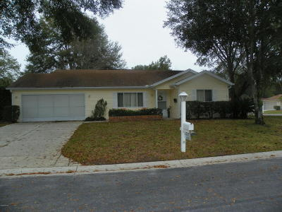 Dunnellon Single Family Home For Sale: 14193 SW 111th Court