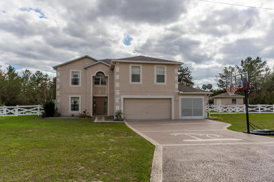 Ocala Single Family Home For Sale: 4440 SW 110th Street