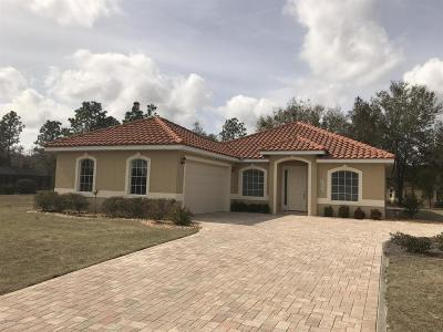 Dunnellon Single Family Home For Sale: 6620 SW 179th Court Road